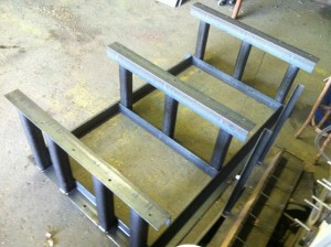custom roller mill stand