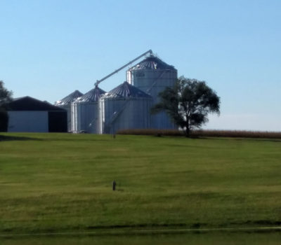 grain bins project